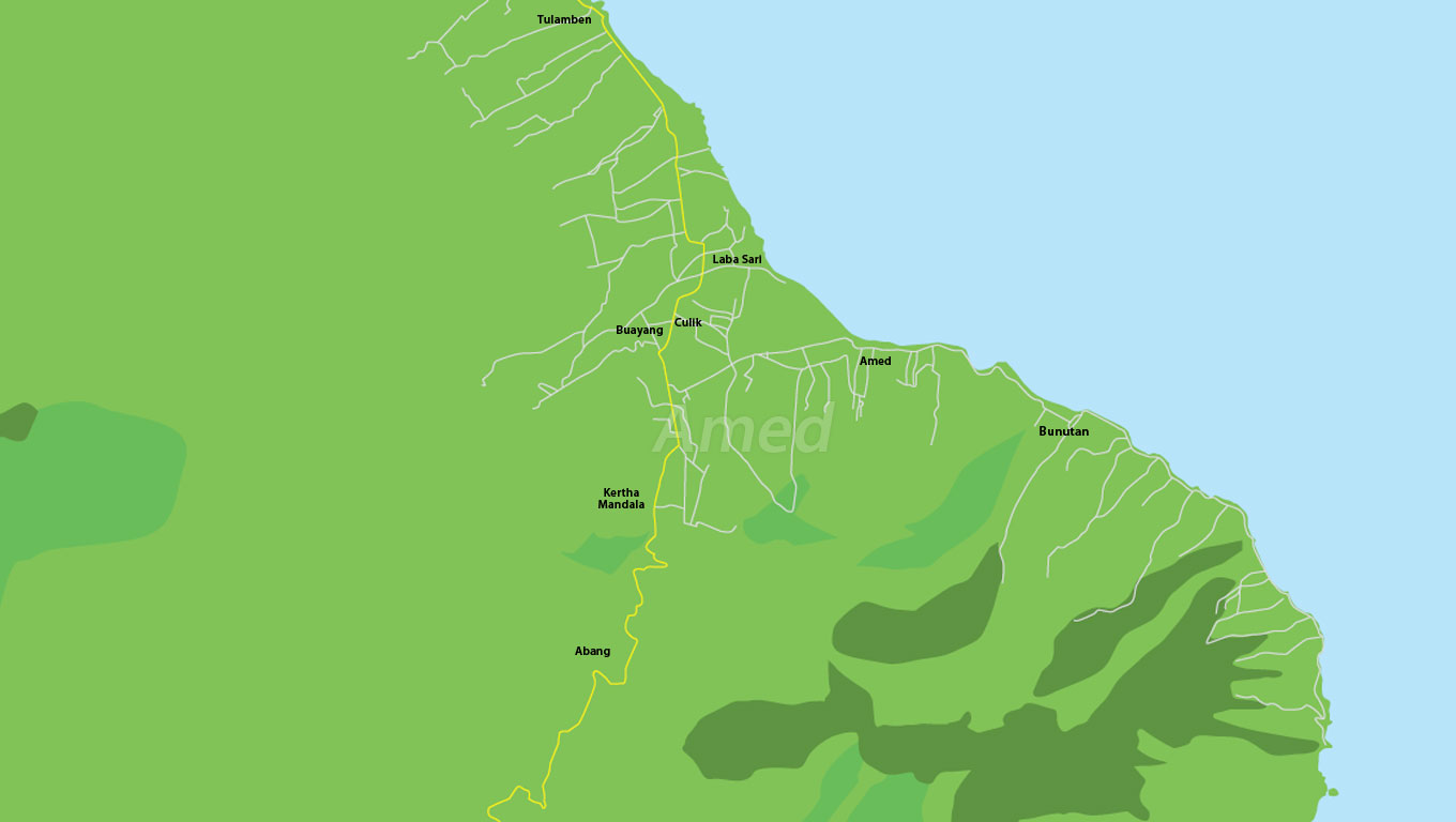 Amed area map
